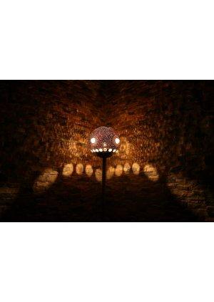 Kristal avize taşlı su kabağı lambad…