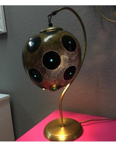 Eğri boyun abajur su kabağı lamba modeli 4
