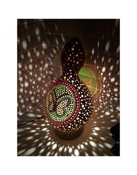 Kelebekli su kabağı lamba