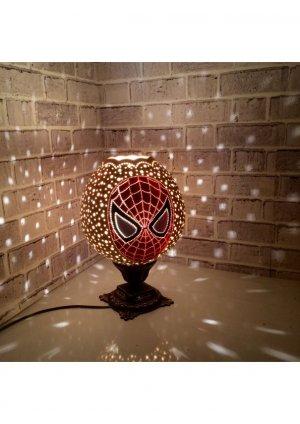 Örümcek adam abajur su kabağı lamba…