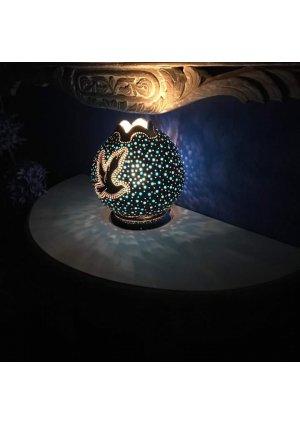 Barış güvercini su kabağı lamba 2…