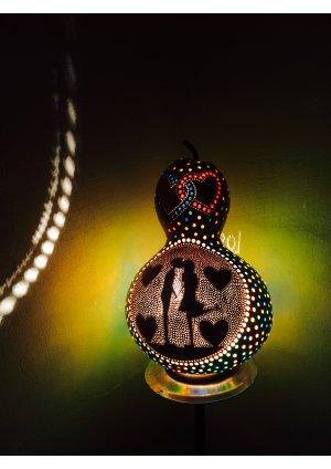 Sevgiliye farklı hediye lamba…