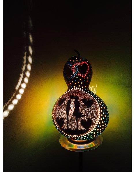 Sevgiliye farklı hediye lamba