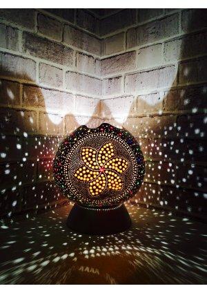 Beyaz abajur su kabağı lamba…