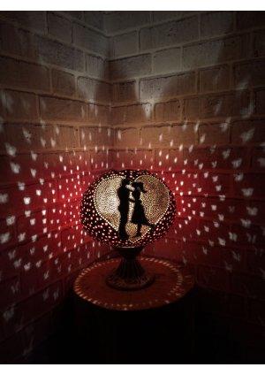 Çiftlere özel gece lambası…