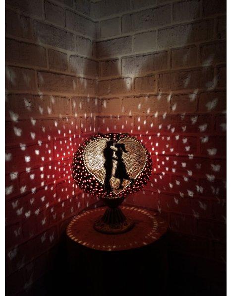 Çiftlere özel gece lambası