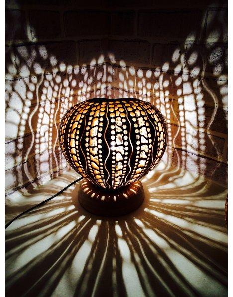Dekorasyon lambaları su kabağı avize ve abajurlar