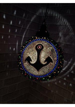 Çapalı avize su kabağı lamba balık …