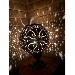 Kesik yıldız kabak lamba