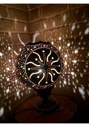 Kesik yıldız kabak lamba…