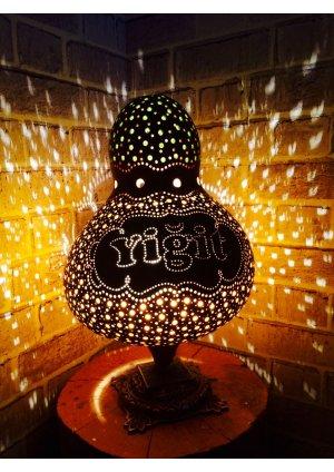 İsme özel su kabağı lamba 5…