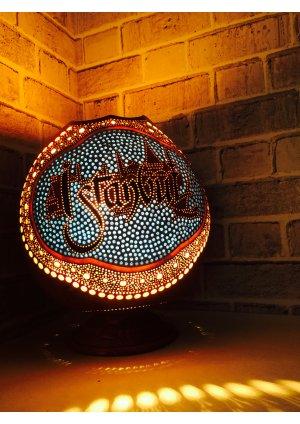 İstanbul silüeti su kabağı lamba…
