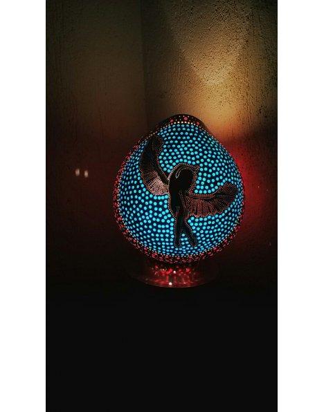 Özel tasarım su kabağı lamba