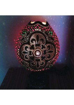 Su kabağı lamba Osmanlı motifli süs …