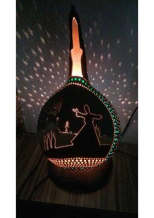 Su kabağı lamba Allah lafzı ve semaze…