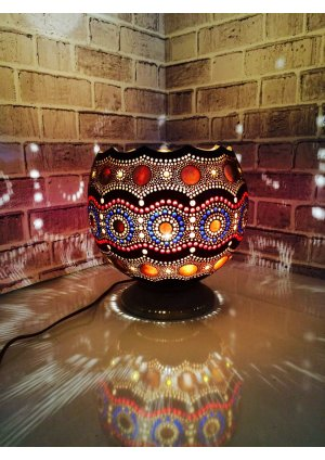Turkey gourd lamp su kabağı lamba cafe…