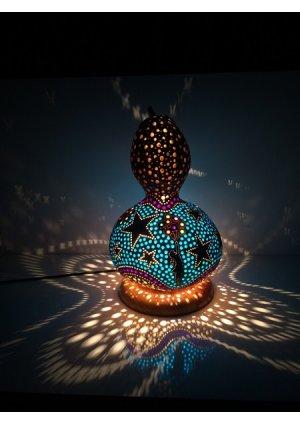 Renkli rüyalar su kabağı lamba…