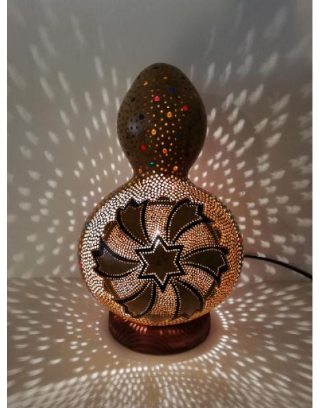 Punto yıldız kabak lamba